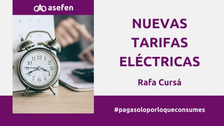 Nuevas tarifas electricas junio 2021